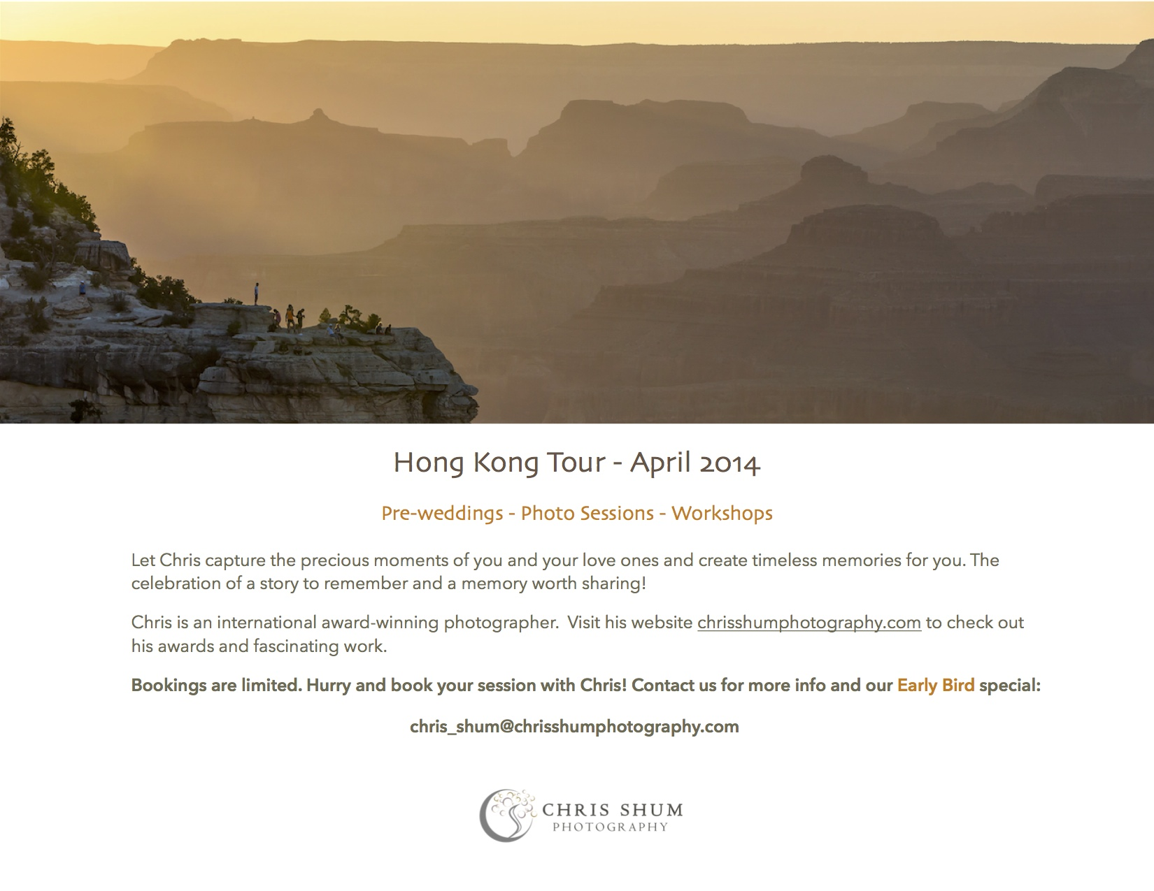 """2014-Chris-Shum-Photography-HongKong-tour-promotion-sign-up-now"""